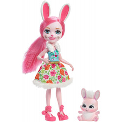 Кукла Кролик Бри и Твист Enchantimals Bree Bunny Doll with Twist