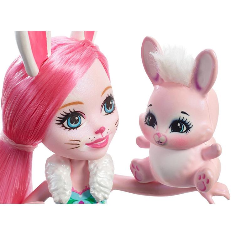 Лялька Кролик Брі та Твіст Enchantimals Bree Bunny Doll with Twist