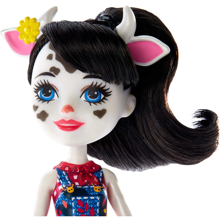 Лялька Корівка Кембрі та Рікотта з телятами Enchantimals Cambrie Cow Doll with Ricotta & Family Toy Set