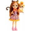 Кукла Гепард Чериш и Квик Квик Enchantimals Cherish Cheetah Doll with Quick-Quick