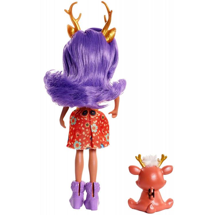 Лялька Олень Данесса та Спринт Enchantimals Danessa Deer Doll with Sprint