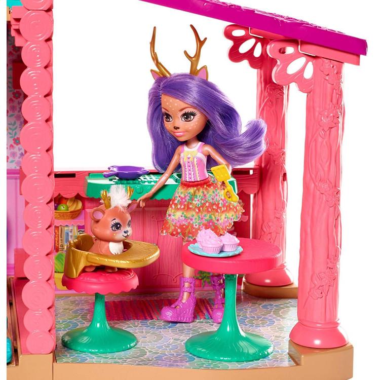 Ігровий набір Лісовий будиночок оленя Данесси Enchantimals Cozy Deer House Playset