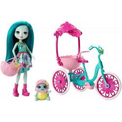 Игровой набор Прогулка на велосипеде Enchantimals Doll Bicylce Playset