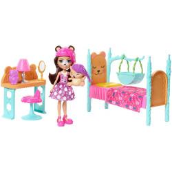 Игровой набор Спальная комната Медведицы Брен и Снор Enchantimals Dreamy Bedroom Playset with Bren Bear and Snore