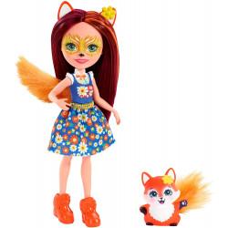 Кукла Лисичка Фелисити и Флик Enchantimals Felicity Fox Doll with Flick 2