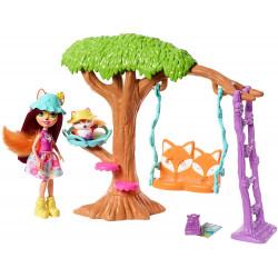 Набор игровая площадка Лисички Фелисити и Флика Enchantimals Playground Adventures Felicity Fox