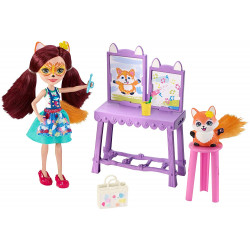 Игровой набор Художественная студия Лисички Фелисити Enchantimals Art Studio Playset with Felicity Fox Doll
