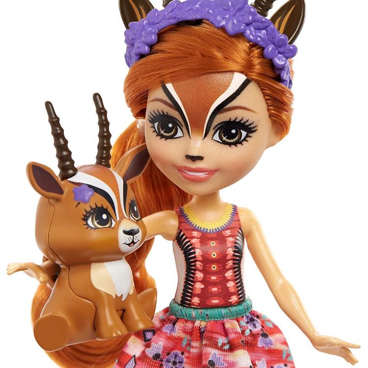 Кукла Габриэлла Газель и Рейсер Enchantimals Gabriela Gazelle Doll with Racer