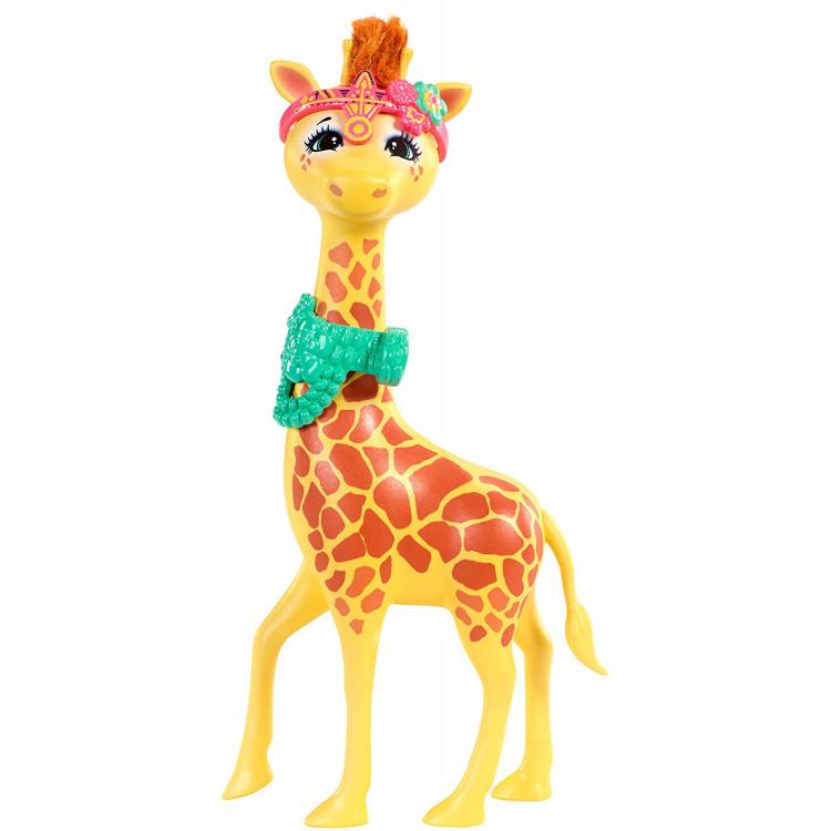 Лялька Жирафа Джиліан та Пауль Enchantimals Gillian Giraffe with Pawl