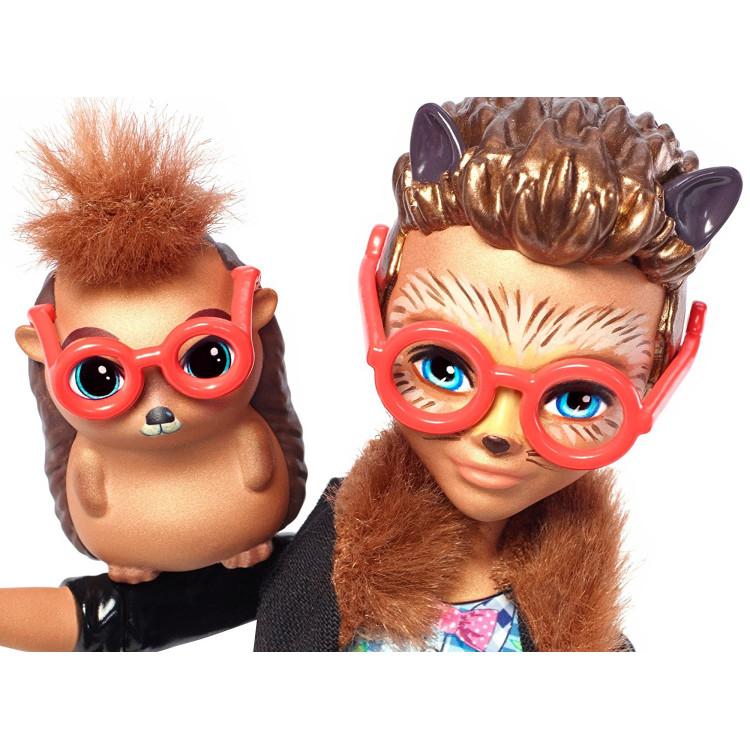 Лялька Їжак Хіксбі та Поінтер Enchantimals Hixby Hedgehog with Pointer