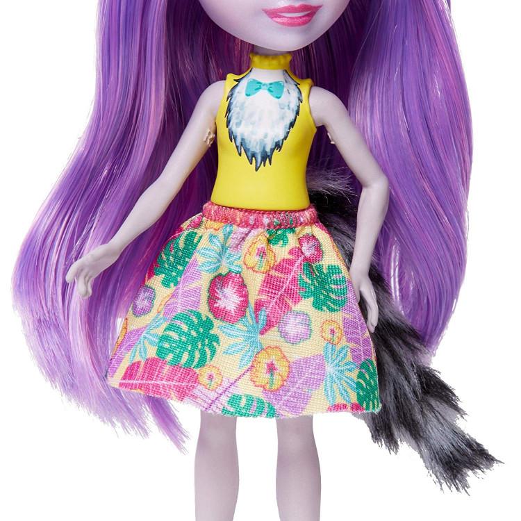Лялька Лемур Лариса та Рінглет Enchantimals Larissa Lemur & Ringlet Dolls