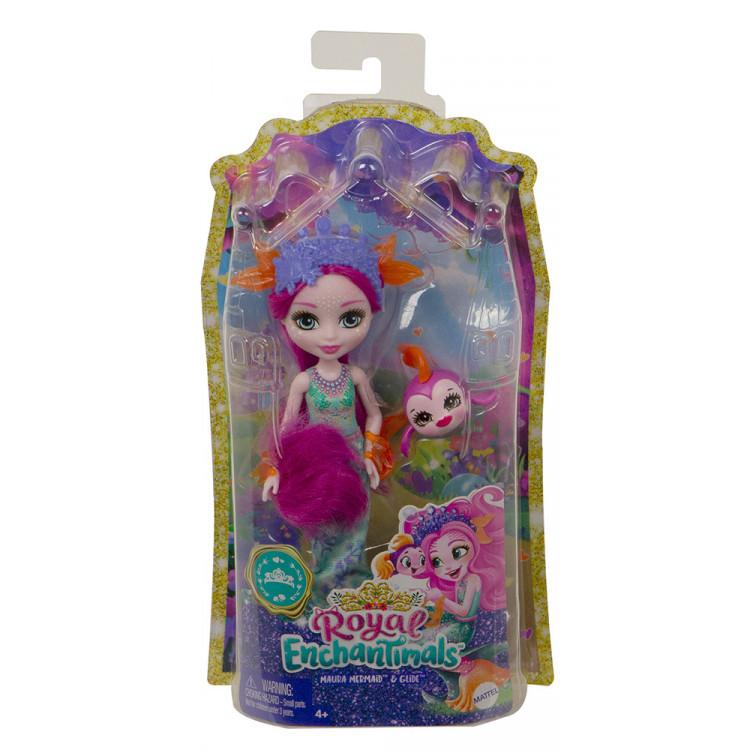Кукла Русалка Маура и Глайд Enchantimals Royal Maura Mermaid Doll with Glide
