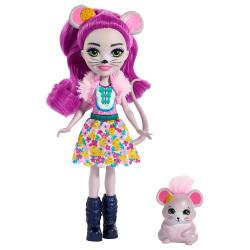 Кукла Мышка Майла и Фондю Enchantimals Mayla Mouse Doll with Fondue