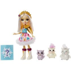 Игровой набор с сюрпризом Семья полярной совы Одель Enchantimals Family Toy Set with Odele Owl Doll