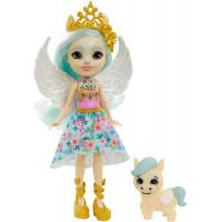 Кукла Пегас Паолина и Уингли Enchantimals Royal Paolina Pegasus Doll with Wingley