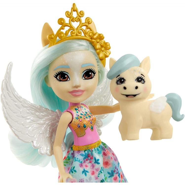 Лялька Пегас Паоліна та Уінглі Enchantimals Royal Paolina Pegasus Doll with Wingley