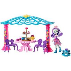 Игровой набор Беседка для чаепития Павлины Пэттер Enchantimals Garden Gazebo Tea Party Playset with Patter Peacock Doll