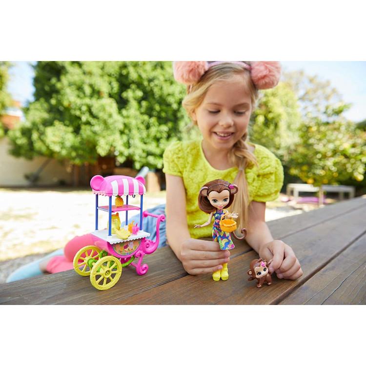 Набор кукол Пикник в Парке Enchantimals Picnic in The Park Doll 3-Pack & Playset