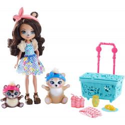 Игровой набор Пикник на природе Enchantimals Paws for a Picnic Doll and Playset