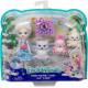 Игровой набор с сюрпризом Семья белой медведицы Пристины Enchantimals Family Toy Set with Pristina Polar Bear Doll