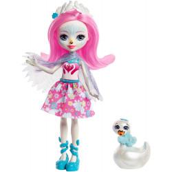 Кукла Лебедь Саффи и Пойс Enchantimals Saffi Swan Doll with Poise
