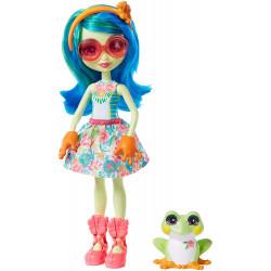 Кукла Лягушка Тамика и Бёст Enchantimals Tamika Tree Frog & Burst Dolls