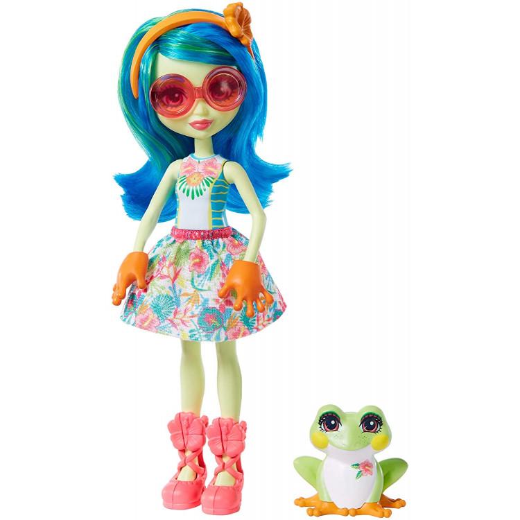 Лялька Квакша Таміка та Бьост Enchantimals Tamika Tree Frog & Burst Dolls