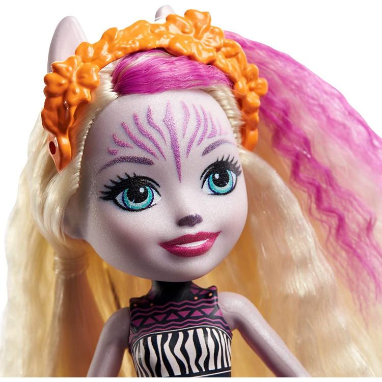 Лялька Зеді Зебра та Реф Enchantimals Zadie Zebra Doll with Ref