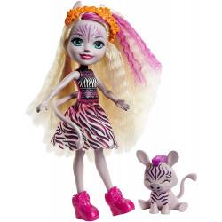 Кукла Зэди Зебра и Реф Enchantimals Zadie Zebra Doll with Ref