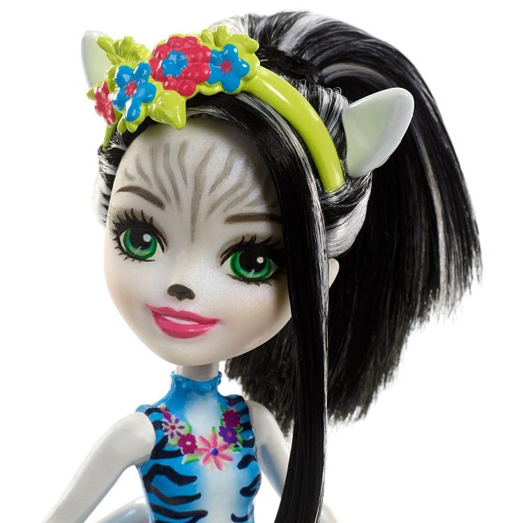 Кукла Зебра Зелена и Хуфит Enchantimals Zelena Zebra Doll with Hoofette