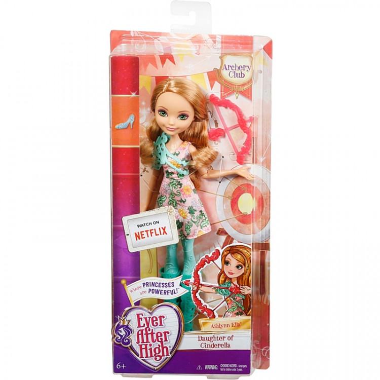 Лялька Ешлін Елла Стрільба з лука Ever After High Ashlynn Ella Archery Club Doll