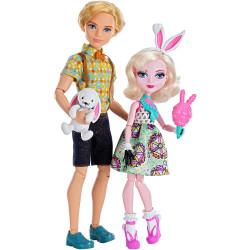 Набор кукол Банни Бланк и Алистэр Карнавал Ever After High Bunny Blanc & Alistair Wonderland Carnival Date Dolls