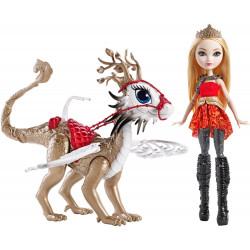 Игровой набор Кукла Эппл Уайт и дракон Брэбёрн Игры драконов Ever After High Apple White  Doll & Braebyrn Dragon Games Doll