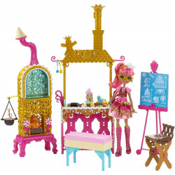 Игровой набор кукла Джинджер и кухня Покрытые сахаром   Ever After High Sugar Coated Kitchen with Ginger Breadhouse Doll
