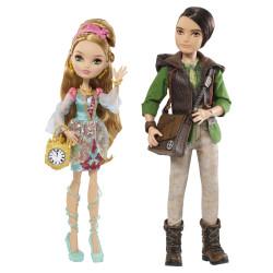 Набор кукол Эшлин Элла и Хантер Хантсмен Базовые Ever After High Ashlynn Ella & Hunter Huntsman Basic Doll