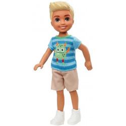 Кукла Барби Мальчик Челси в футболке с монстром Barbie Club Chelsea Boy Doll, Blonde