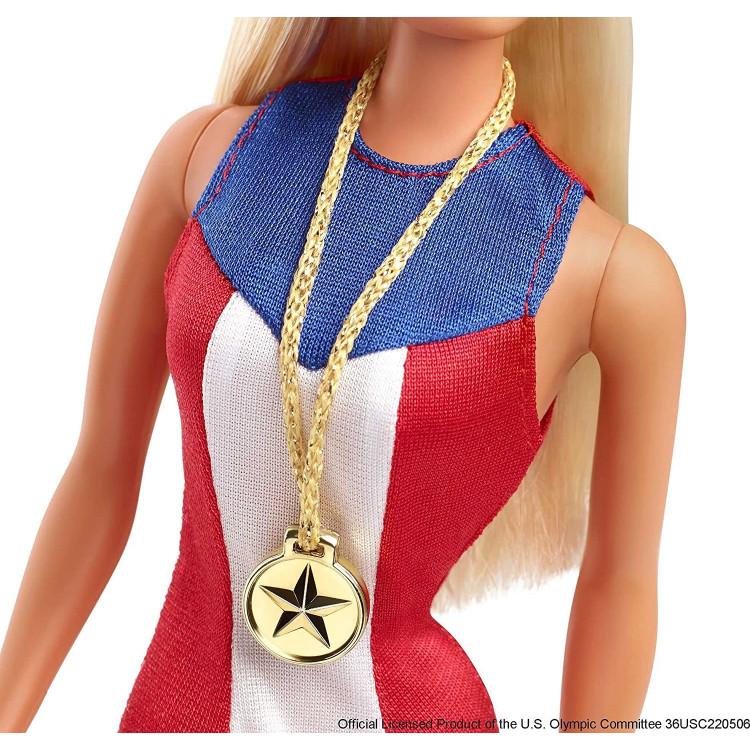 Кукла Барби коллекционная с золотой медалью Barbie Signature 1975 Gold Medal Doll Reproduction