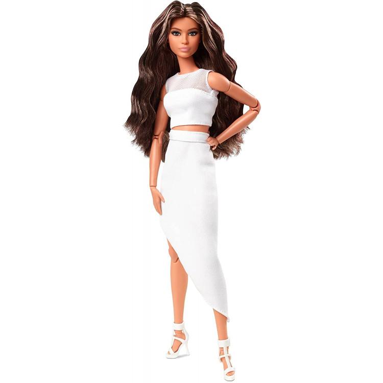 Лялька Барбі колекційна Брюнетка Barbie Signature Looks Doll, Brunette Wavy Hair #1