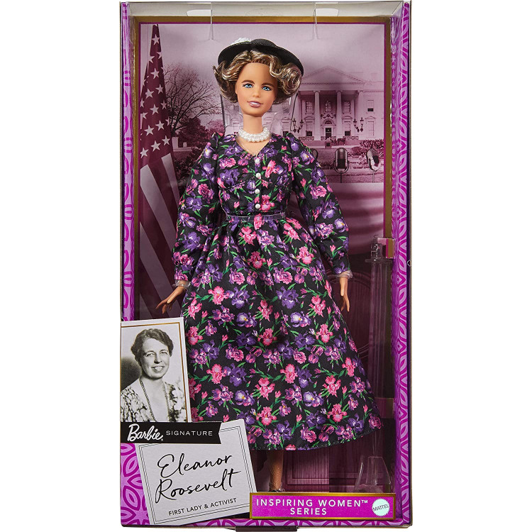 Лялька Барбі Надихаючі жінки Елеонора Рузвельт Barbie Signature Inspiring Women Eleanor Roosevelt Doll
