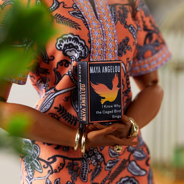 Лялька Барбі Надихаючі жінки Майя Енджелоу Barbie Signature Inspiring Women Maya Angelou Doll