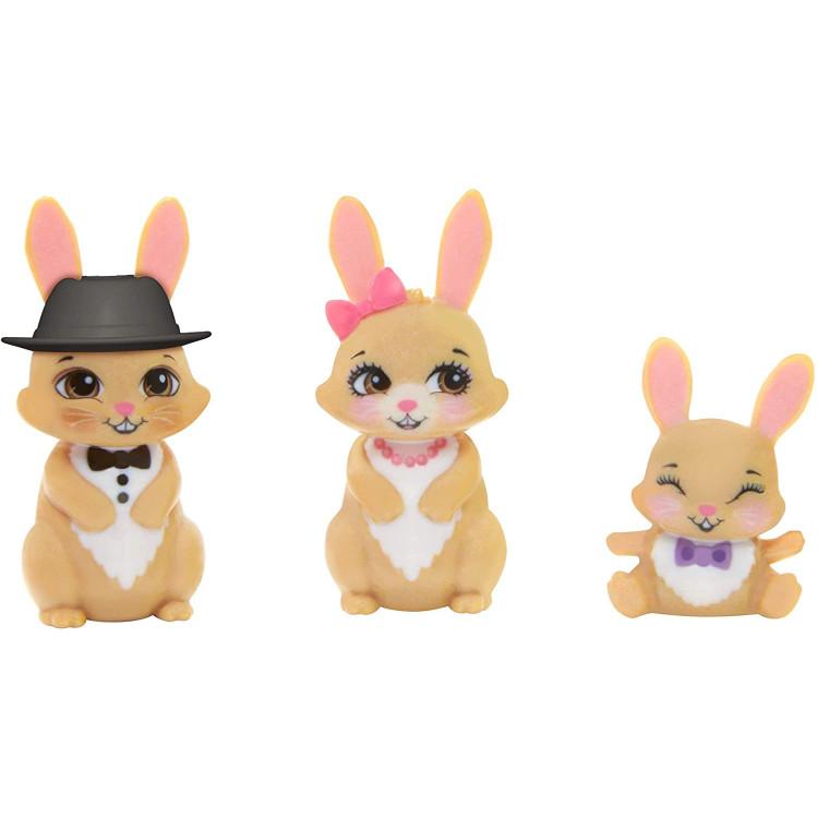 Ігровий набір з лялькою Родина Брістал Кролика Royal Enchantimals Family Toy Set, Brystal Bunny Doll