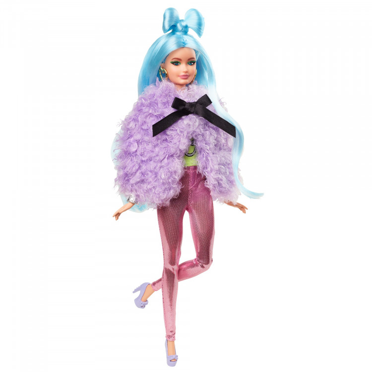 Лялька Барбі Екстра Модниця Міняй та Поєднуй Barbie Extra Doll & Accessories Set with Mix & Match Pieces for 30+ Looks