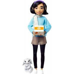 Кукла Фей Фей с кроликом Банджи Путешествие на Луну Netflix Over The Moon Fei Fei Doll with Bungee Mattel