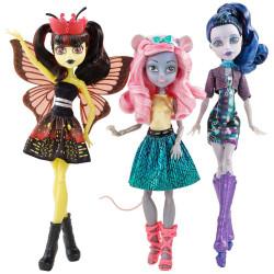 """Набор из 3 кукол """"Бу Йорк, Бу Йорк"""" (монстро-мюзикл) Boo York Character Doll Bundle"""