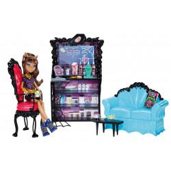 Коффин Бин и Клодин Вульф  Coffin Bean and Clawdeen Wolf Doll Playset