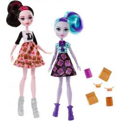 Дракулаура и Твайла школьный дух Draculaura and Twyla School Spirit