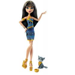 Клео Де Нил с котенком Cleo De Nile Doll with Kitten Ghoul's Beast Pet