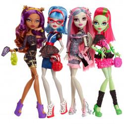 Набор из 4-х кукол Ночная жизнь 4-Pack Dolls Ghouls' Night Out