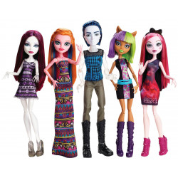 Набор из 5-ти кукол в торговом центре Maul Monsteristas Exclusive 5 Pack