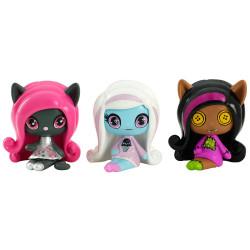 Набір мініфігурок Кетті, Еббі та Клодін  Catty, Abbey, Clawdeen Minis 3 Pack